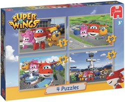 Super Wings Puzzels (4 in 1)