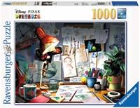 Disney Pixar - The Artist's Desk Puzzel (1000 stukjes)