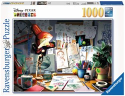 Disney Pixar - The Artist's Desk Puzzel (1000 stukjes)