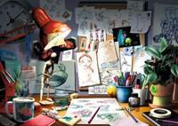 Disney Pixar - The Artist's Desk Puzzel (1000 stukjes)-2