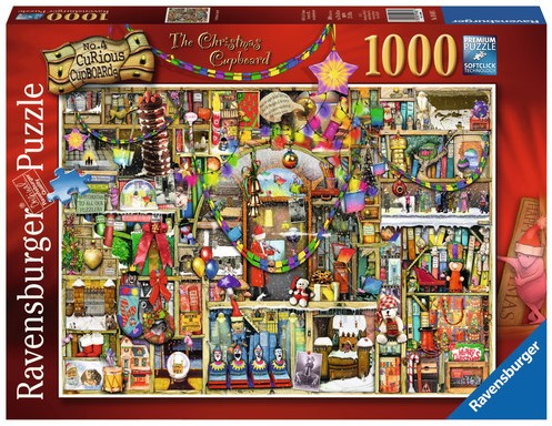 The Christmas Cupboard, Colin Thompson Puzzel-1