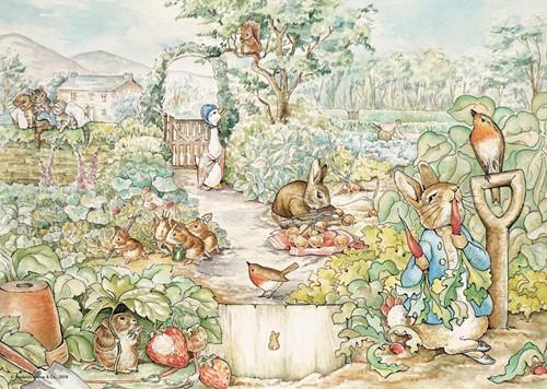 Pieter Konijn Garden Puzzel (500 stukjes)-2