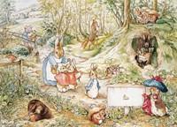 Pieter Konijn Woodland Puzzel (1000 stuks)-2
