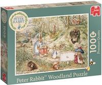 Pieter Konijn Woodland Puzzel (1000 stuks)