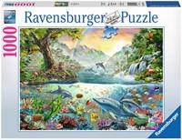 In het Paradijs Puzzel (1000 stukjes)-1