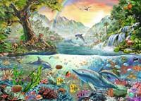 In het Paradijs Puzzel (1000 stukjes)-2