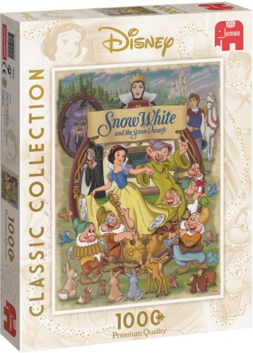 Classic Collection - Disney Sneeuwwitje Puzzel (1000 stukjes)