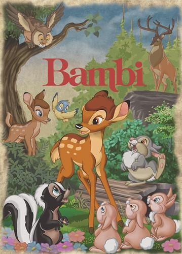 Classis Collection - Disney Bambi Puzzel (1000 stukjes)-2