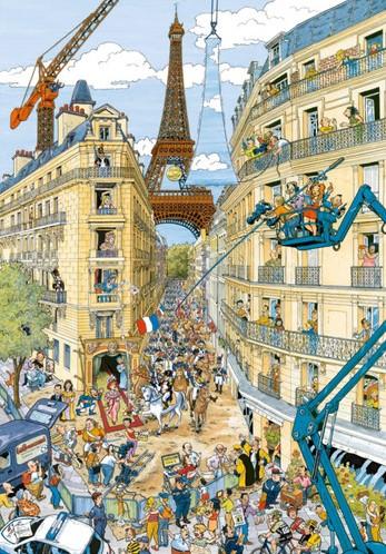 Fleroux - Paris Puzzel (1000 stukjes)-2