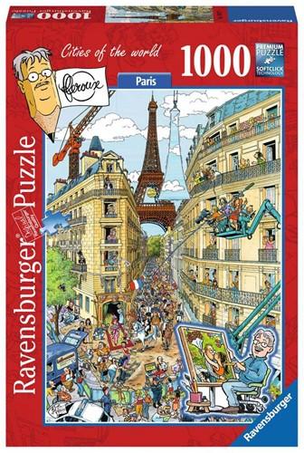 Fleroux - Paris Puzzel (1000 stukjes)