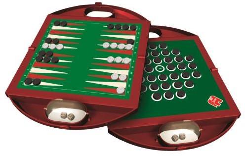 Reis Backgammon & Solitaire Reisspel-2