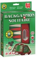 Reis Backgammon & Solitaire Reisspel-1