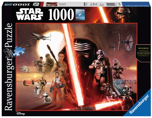 Star Wars - The Force Awakens Puzzel (1000)-1
