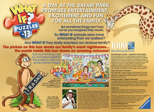 What if? 13 - The Safari Park Puzzel-2