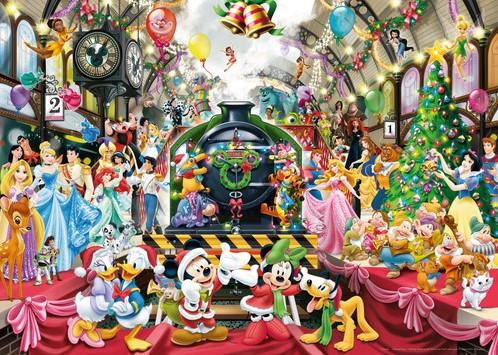 Disney Kerstmis op het Station Puzzel-2