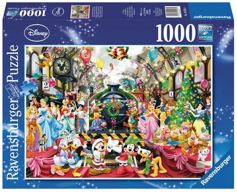 Disney Kerstmis op het Station Puzzel-1