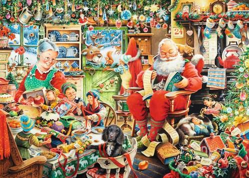 Santa's Final Preparations Puzzel-2