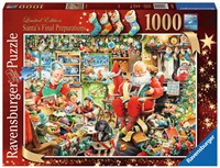 Santa's Final Preparations Puzzel (1000 stukjes)
