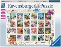 Postzegelverzameling Puzzel (1000 stukjes)-1
