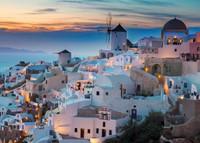 Avond in Santorini Puzzel (1000 stukjes)-2