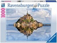 Mont-Saint-Michel Puzzel (1000 stukjes)-1