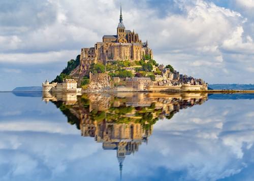 Mont-Saint-Michel Puzzel (1000 stukjes)-2