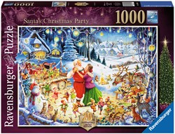 Santa's Christmas Party Puzzel (1000 stukjes)