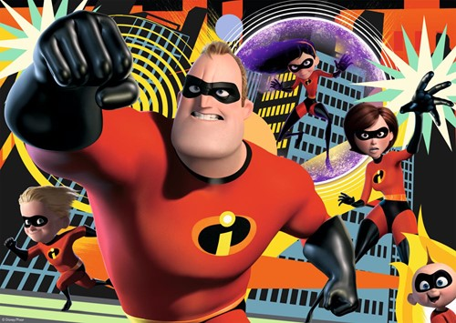The Incredibles 2 - Puzzel (100 XL)-2