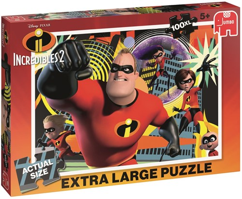 The Incredibles 2 - Puzzel (100 XL)