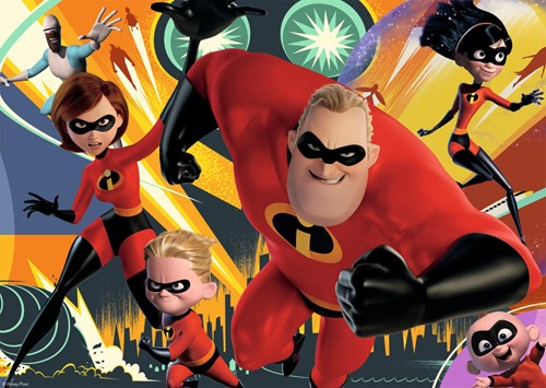 The Incredibles 2 - Puzzel (200 XL)-2