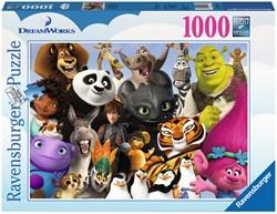 Dreamworks Familie Puzzel (1000 stukjes)