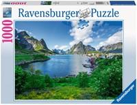 Op de Lofoten Puzzel (1000 stukjes)-1