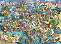 Europese Wonderen Puzzel (1000 stukjes)-2