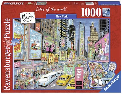 New York, Fleroux Puzzel (1000 stukjes)