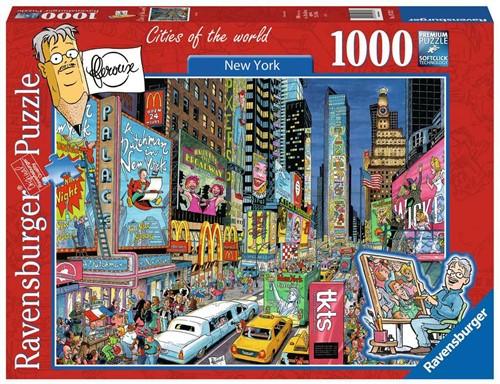 Fleroux - New York Puzzel (1000 stukjes)