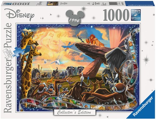 Disney The Lion King Puzzel (1000 stukjes)