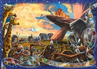 Disney The Lion King Puzzel (1000 stukjes)