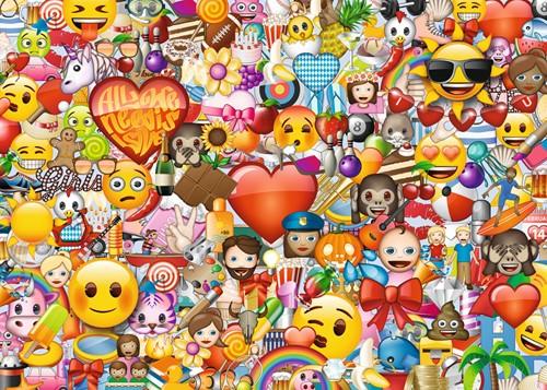 Emoji Puzzel (1000 stukjes)-2
