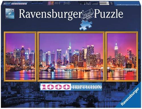 New York Puzzel (1000 stukjes) (Doos beschadigd)
