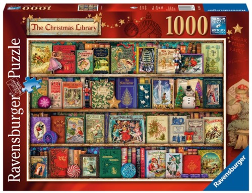 The Christmas Library Puzzel (1000 stukjes)