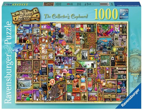 The Collector's Cupboard Puzzel (1000 stukjes)