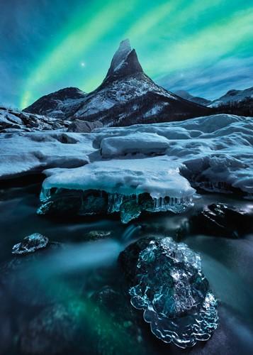 Stetind in Noord-Noorwegen Puzzel (1000 stukjes)-2