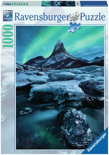 Stetind in Noord-Noorwegen Puzzel (1000 stukjes)-1