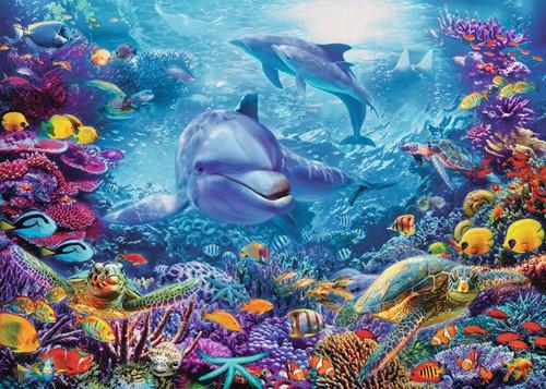 Prachtige Onderwaterwereld Puzzel (1000 stukjes)-2