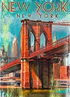 Retro New York Puzzel (1000 stukjes)-2