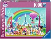 My Little Pony - Onder de Regenboog Puzzel (1000 stukjes)