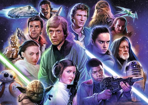 Star Wars Limited Edition 7 Puzzel (1000 stukjes)-2