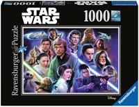Star Wars Limited Edition 7 Puzzel (1000 stukjes)-1