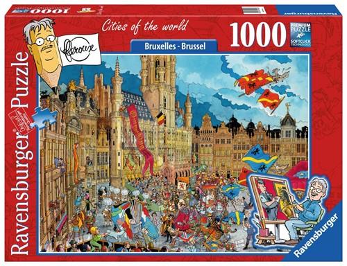 Fleroux - Brussel Puzzel (1000 stukjes)
