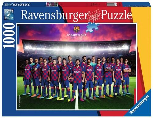 FC Barcelona Puzzel (1000 stukjes) (Doos beschadigd)